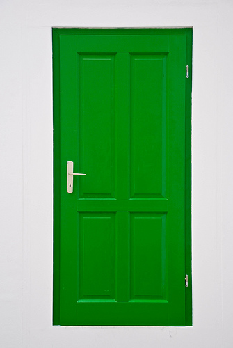 What S Behind The Green S Door