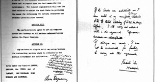 Feisal-Weizmann Agreement