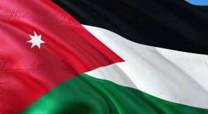 flag of Jordan - Jordan is Palestine conference review